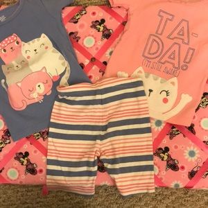 Cat pajama set